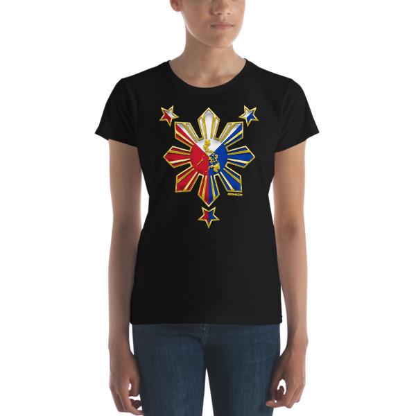 PROUD TO BE FILIPINO Women's short sleeve t-shirt PHILIPPINES