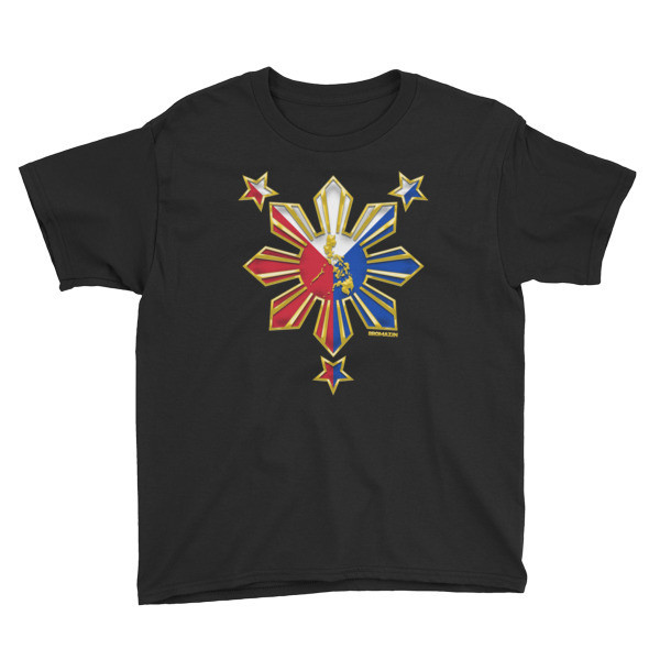 PROUD TO BE FILIPINO Youth Short Sleeve T-Shirt PHILIPPINES