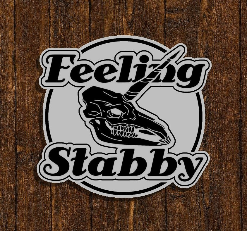 Feeling Stabby Enamel Pin