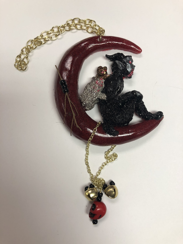Krampus Ornament OOAK