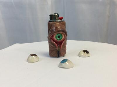 Eye Pull Lighter Case