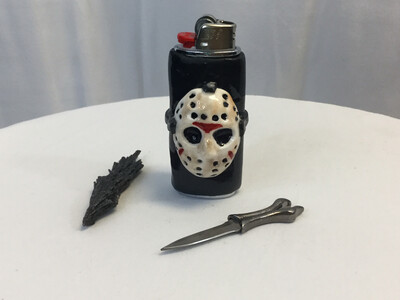 Jason Mask Lighter Case