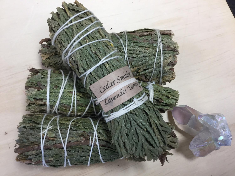 Smudge - Cedar Lavender Yarrow