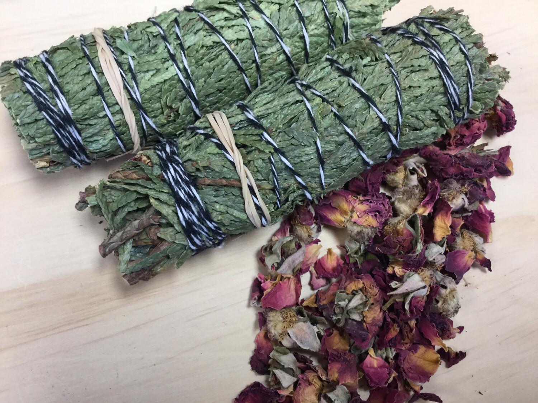 Cedar Blend - Rose Petals