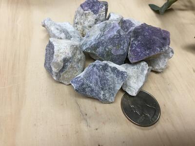 Rough Purple Aventurine