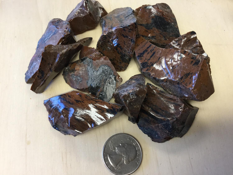 Rough Mahogany Obsidian