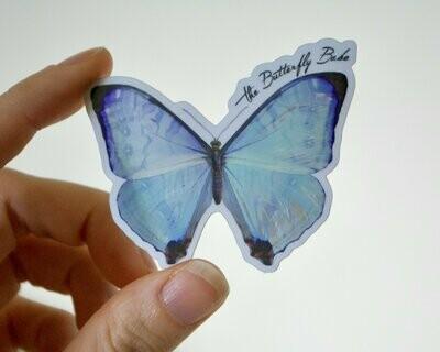 Pearl Morpho Sticker