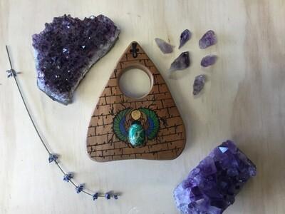 Jeweled Scarab Planchette