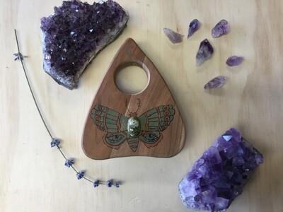 Jeweled Eye Moth Planchette