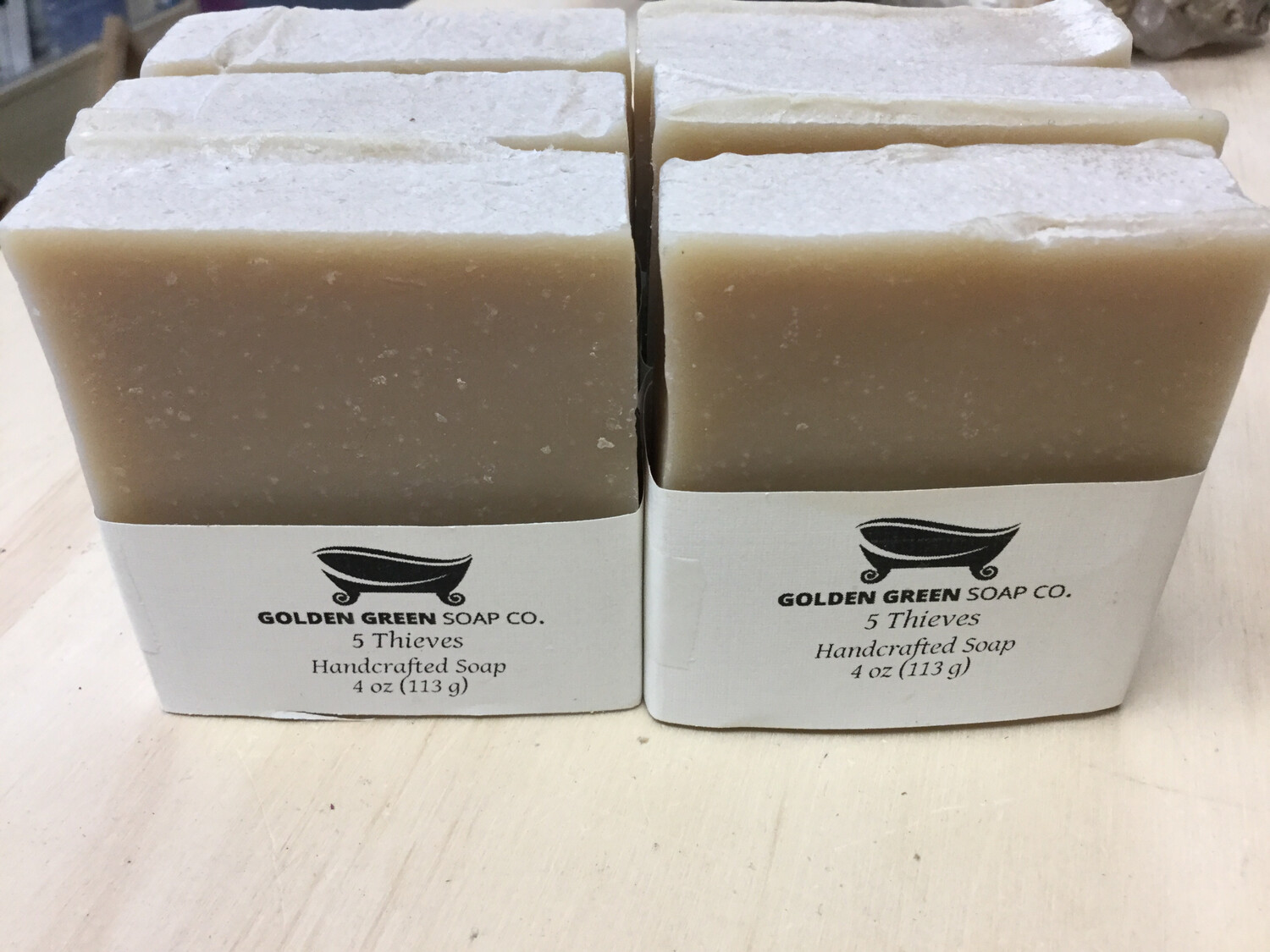 5 Theives Soap