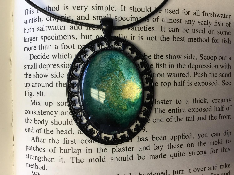 Energy Pendant Necklace by Jennifer Davis