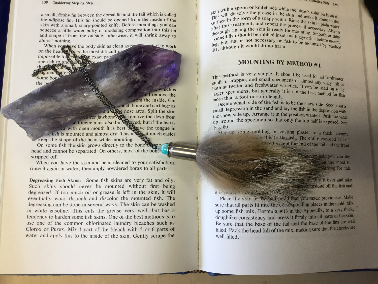 Coyote Fur Necklace