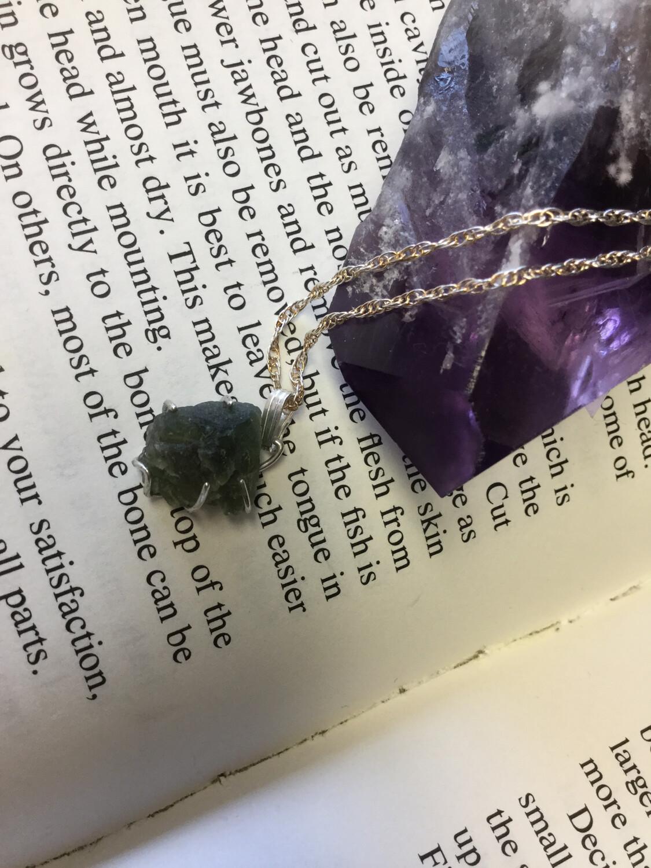 Moldavite Necklace