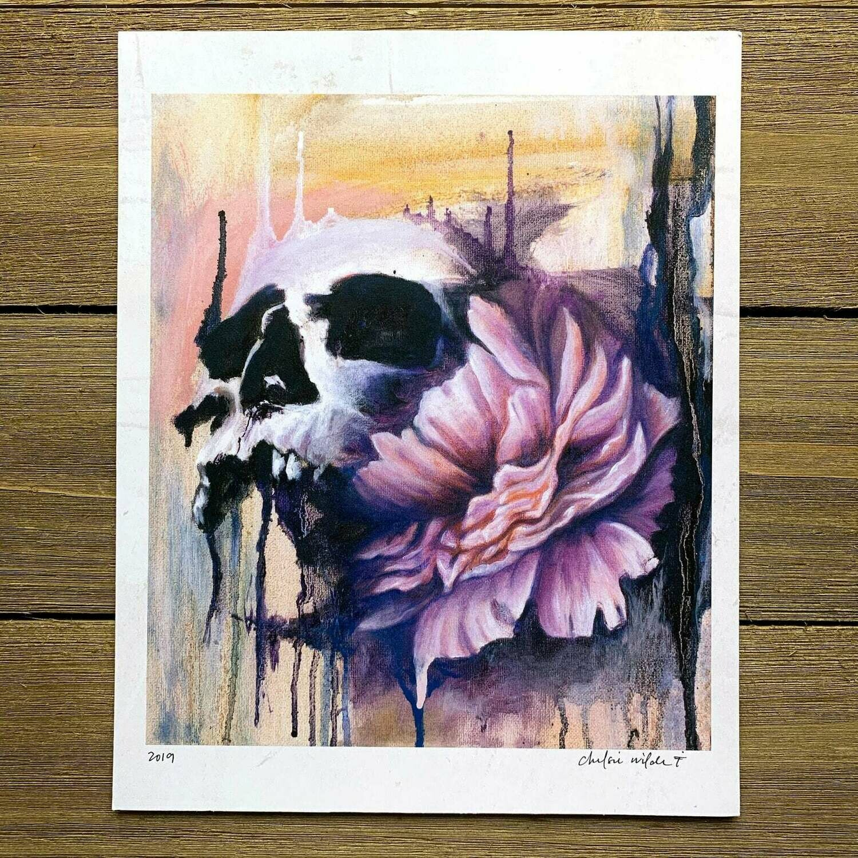 Skull & Flower