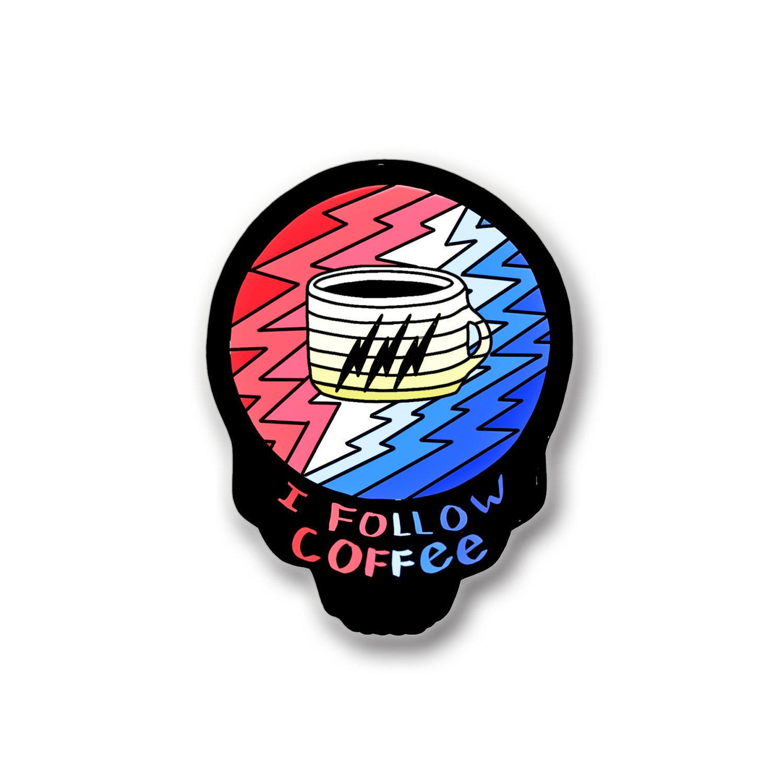 Grateful Dead Coffee Pin