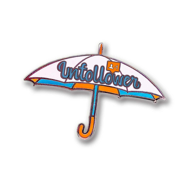 Unfollower Pin