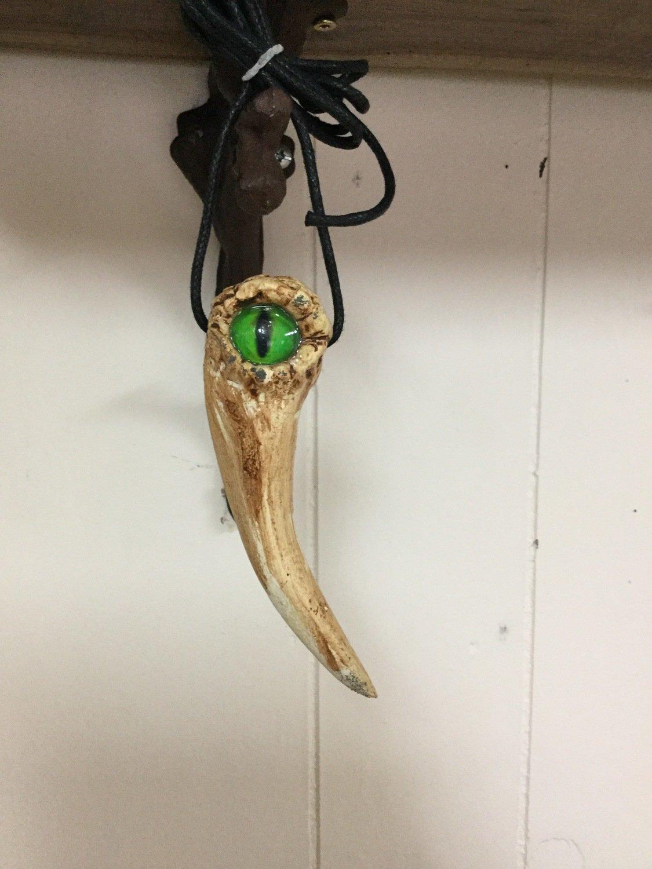 Dragon Tooth Pendants