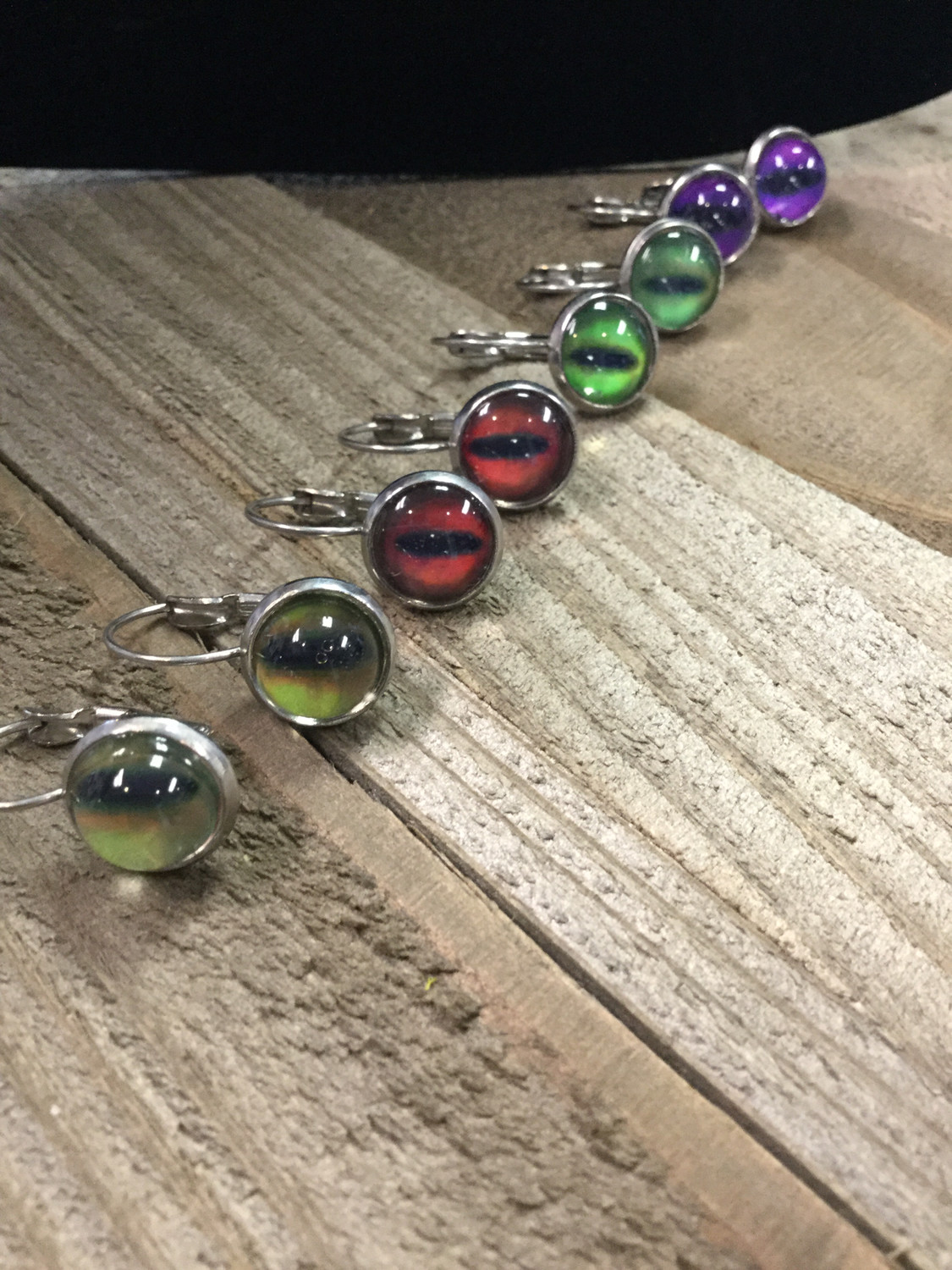 Dragon Eye Earring French Lever Style