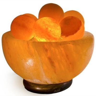 Salt bowl with Salt Orbs