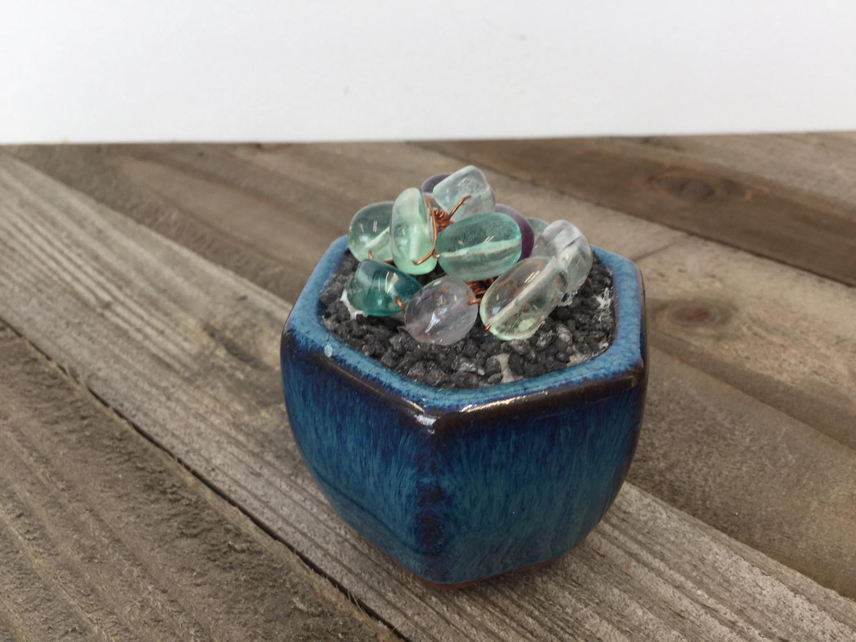 Fluorite Bead Succulent