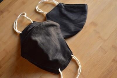 Black (Handmade Face Mask)