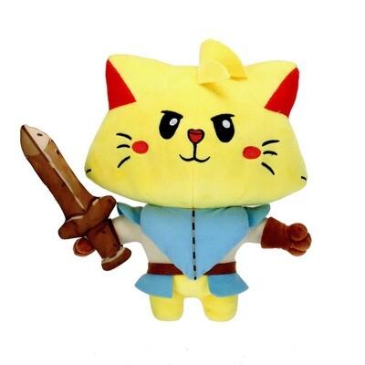 Cat Quest Hero Plush + Pin