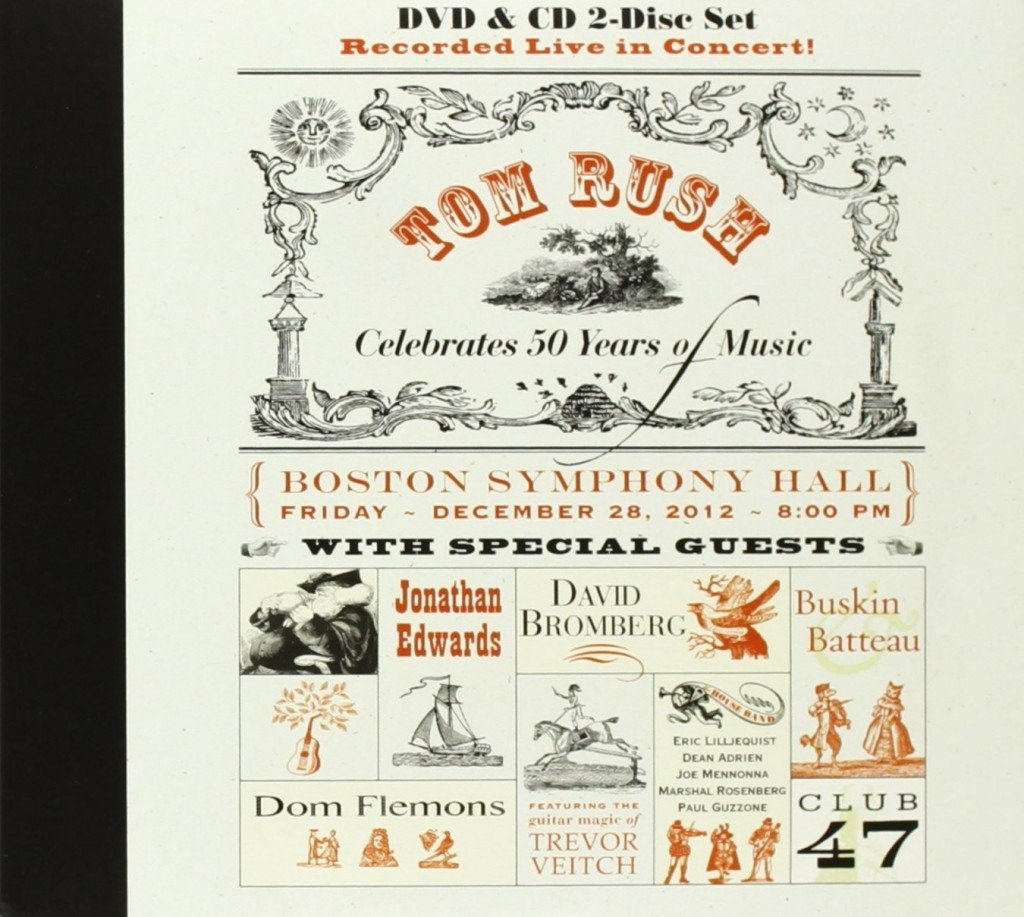 Tom Rush Celebrates 50 Years in Music at Symphony Hall (DVD/CD Combo)