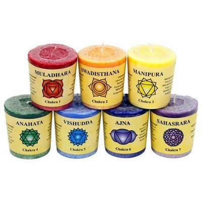 7 bougies chakras