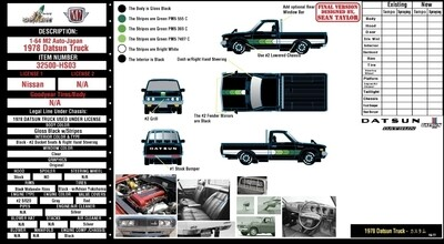 M2 Datsun Truck Hobby Exclusive