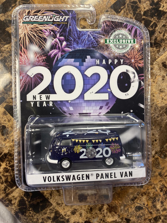 Greenlight- Happy New Year 2020 Volkswagen Panel Van