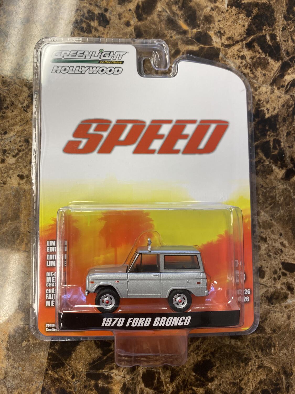 Greenlight-Speed-1970 Ford Bronco