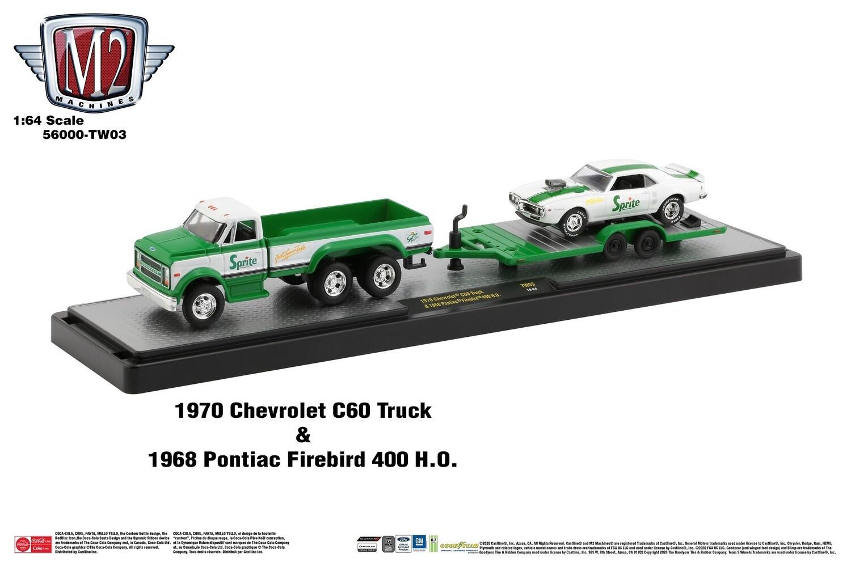 1970 Chevrolet C60 Truck CUSTOM Includes 1968 Pontiac Firebird 400 H.O