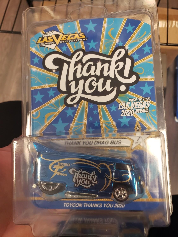 Las Vegas Toy Con Thank You Bus