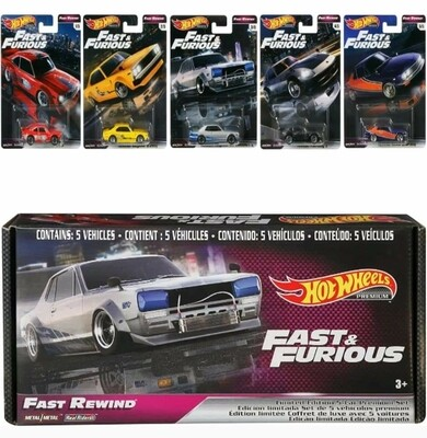 Fast and Furious 5 Car Box Set Exclusive