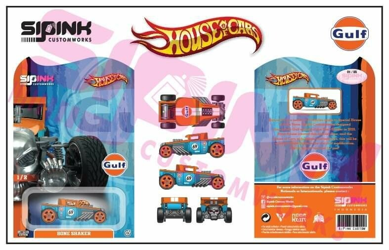 Gulf Boneshaker 1 of 25 House of Cars Exclusive Pre Order
