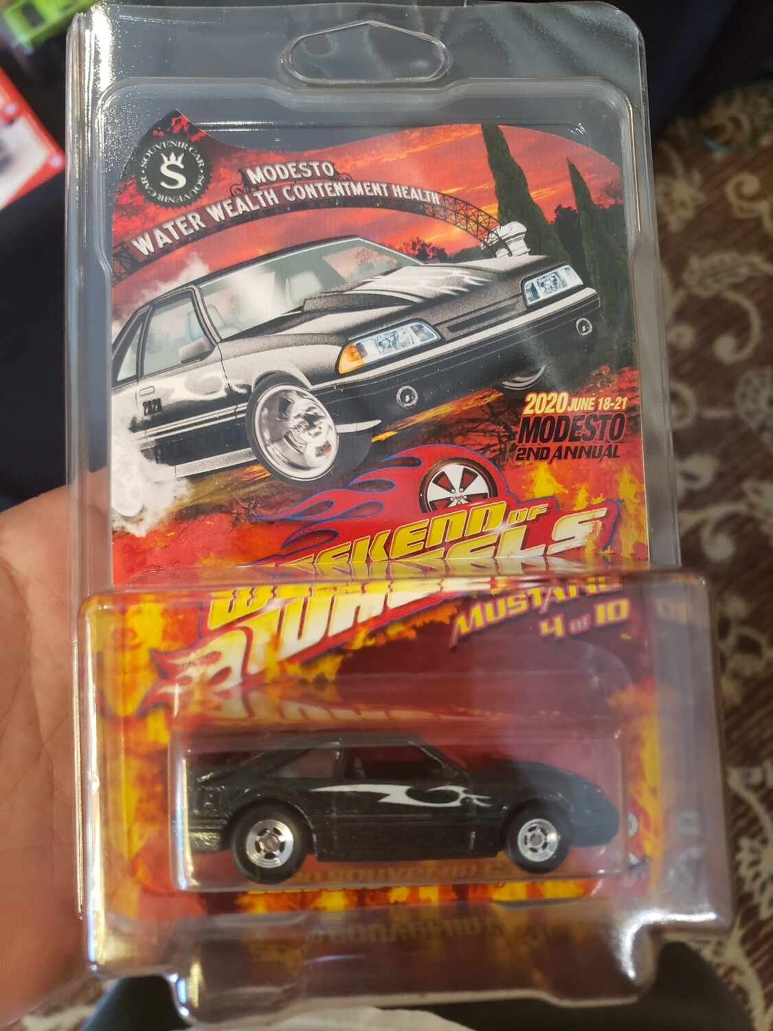 Weekend of Wheels Souvenir 92 Mustang 1 of 10