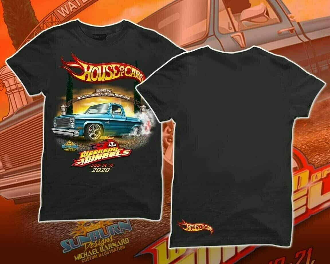 Weekend of Wheels Tshirt Size XL