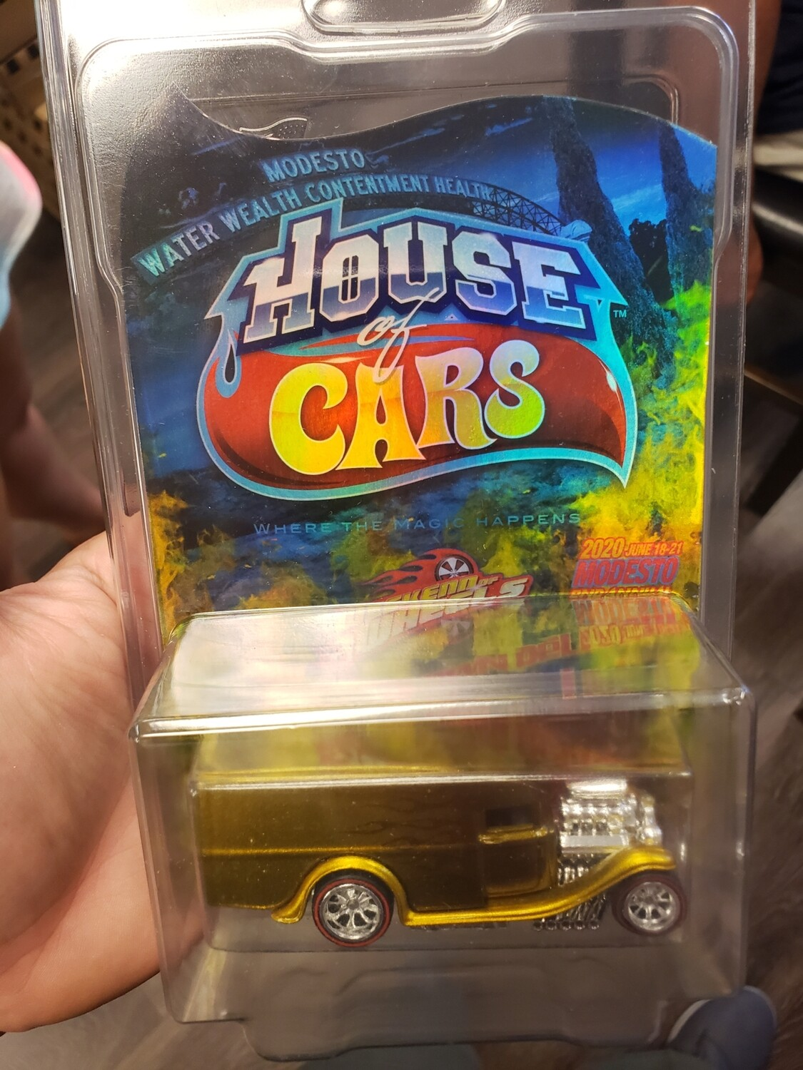 Weekend of Wheels Souvenir Blown Delivery 1 of 1 Hologram Card
