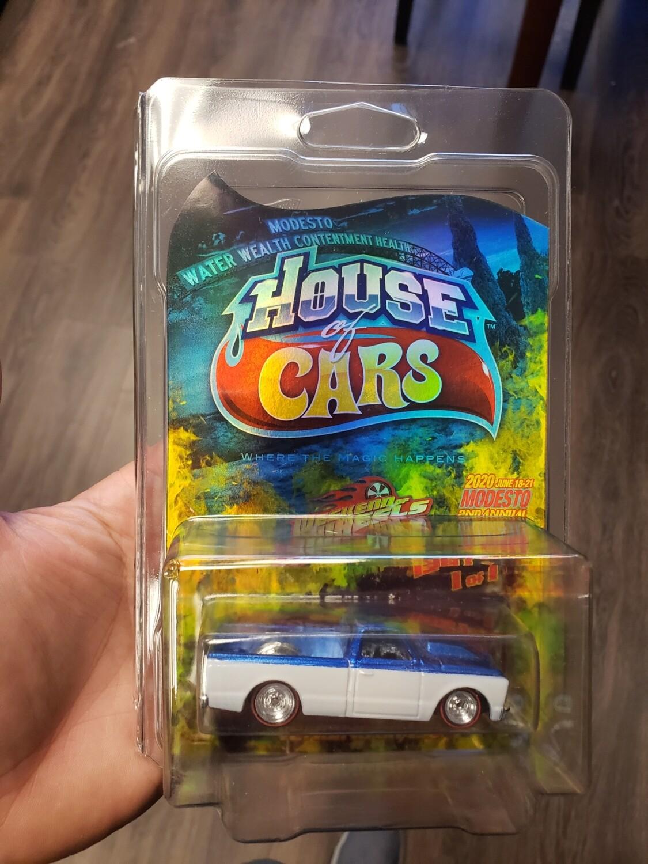 Weekend of Wheels Souvenir '67 Chevy C10 1 of 1 Hologram Card