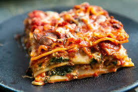 Vegetable Lasagna single