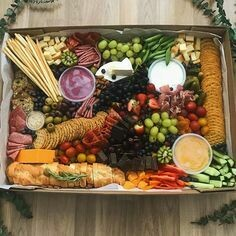 Grazing Boxes. (Savory) Orders Must Be In 48 Hours Before Delivery Picture Of A $60.00 Platter