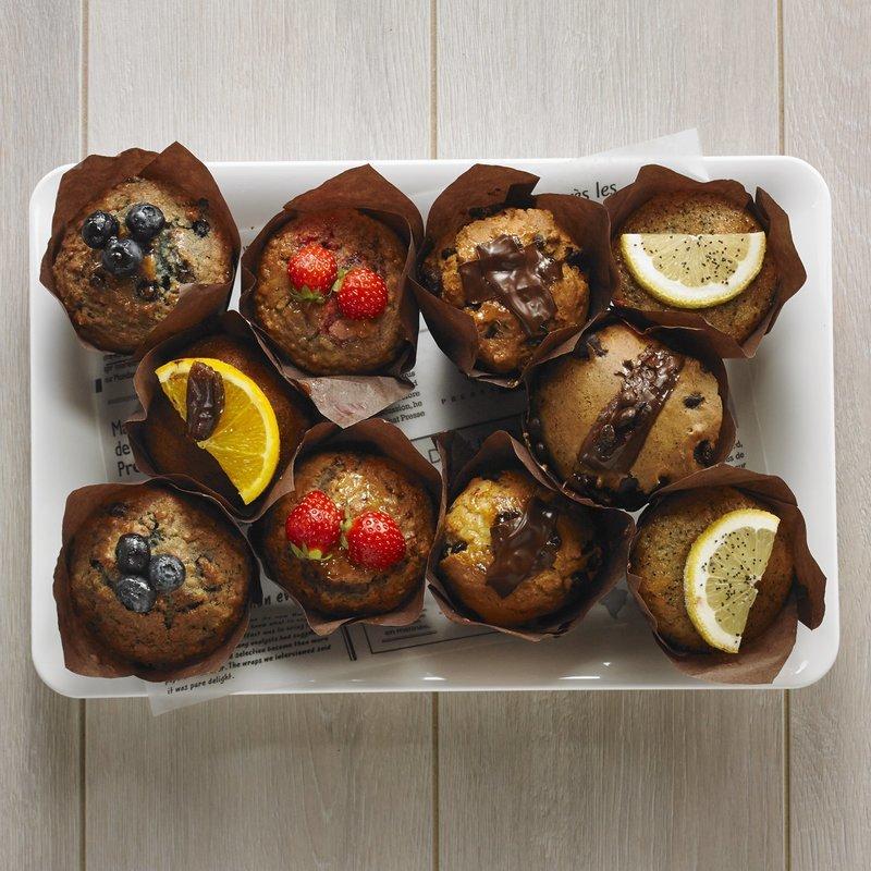 Assorted Muffins Platter