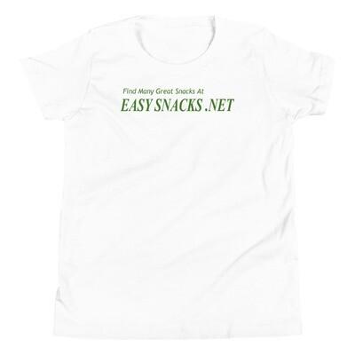Easy Snacks Youth Short Sleeve T-Shirt