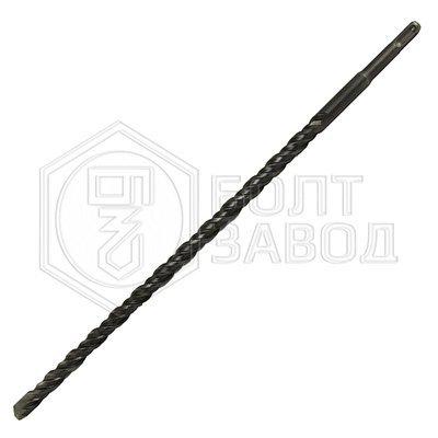 Бур диаметром 6 мм рабочая длина 50 мм общая длина 110 мм