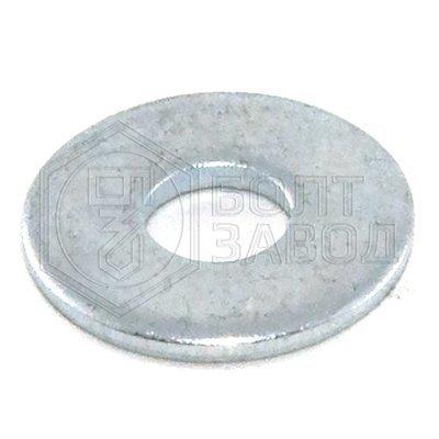Шайба кузовная плоская увеличенный диаметр 4 100 штук