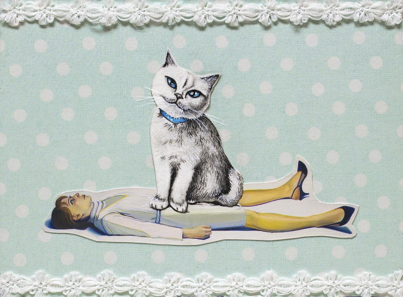 Cat Lady 8x10