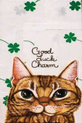 Good Luck Charm Postcard
