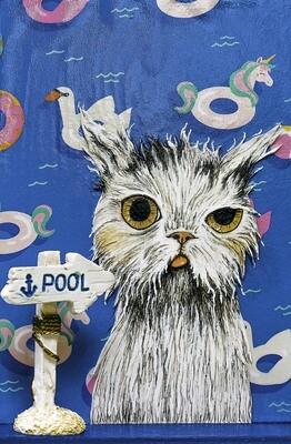 Pool Baby 8x10