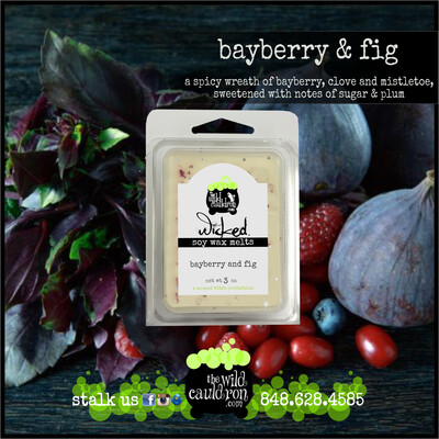 Bayberry & Fig Wicked Wax Melts