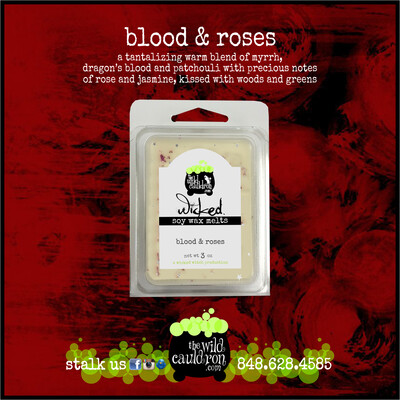 Blood and Roses Wicked Wax Melts